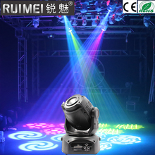 RUIMEI 90W Gobo LED Moving Head Light 3 Face Prism DMX Controller 9/11 Channel for Stage Theater Disco Nightclub Party(China)