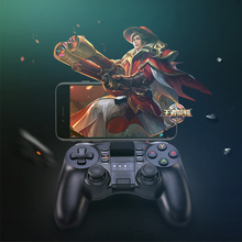 Bluetooth Gamepad for PS 3 Android IOS Smartphone PC Win 7/8/10 Game Console double vibration Wireless Joystick Controller BT3.0(China)