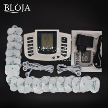JR-309 JR309 Electric Slimming Full Body Relax Pulse Muscle Stimulator tens therapy machine massager vibrator+16 Electrode Pads