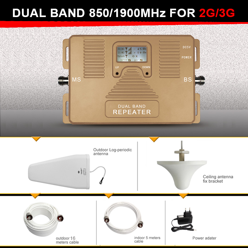 NEW Generation  Smart 2G 3G Signal Repeater  dual ...