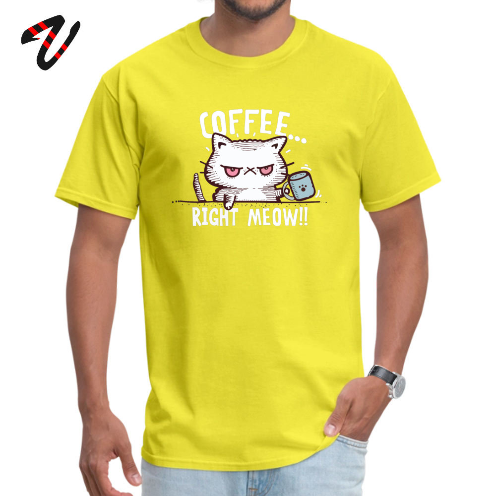 Leisure D O-Neck Top T-shirts April FOOL DAY Tees Short Sleeve for Students Dominant 100% Cotton Printed T-Shirt 3D 076 3161 yellow