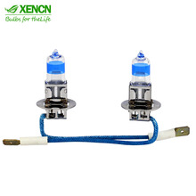 XENCN H3 12V 55W Pk22s Xenon Teleeye Intense Light Car Bulbs Germany Halogen Auto Fog Lamp Free Shipping 2pcs