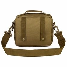 Outdoor Tactical Military Assault Bag Pack MOLLE Small Pockets Man Waterproof Nylon Crossbody Bag(China)