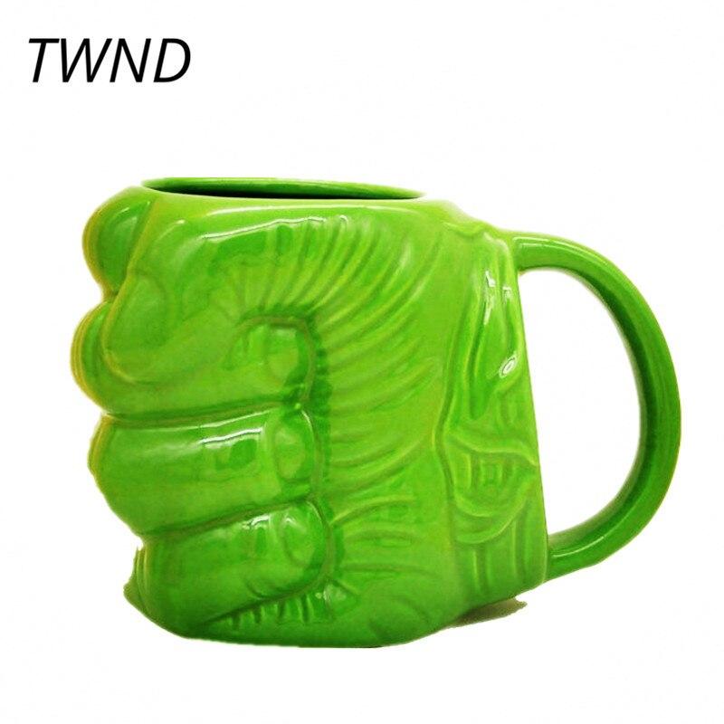 Ceramic-hulk-fist-coffee-mugs-tea-milk-cup-Hulk-Shaped-Mug-schildren-s-cartoon-gift