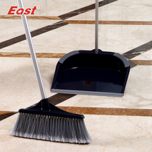East Stainless steel rod Luxury Broom dustpan combination set brooms & dustpans household cleaning products(China)