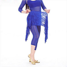 Belly dance costumes senior lace  belly dance short skirt for women belly dancing hip scarf
