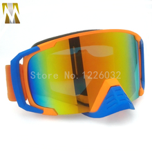 Special design Racecraft Motocross Goggles ATV Motorcycle Glasses Racing Bike Gafas Goggles with nose Cycling Glasses(China)