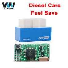 For Diesel EcoOBD2 ECU Chip Tuning Box 15% Fuel Saving Blue Color Eco OBD2 Diesel Plug and Drive Performance