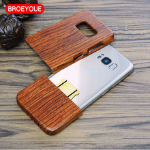 100% Natural Wood Case for Samsung Galaxy S5 S7 S6 Edge Plus Note 7 5 4 3 for iPhone 5 5s 7 6 6s Plus Bamboo Carving Phone Cover
