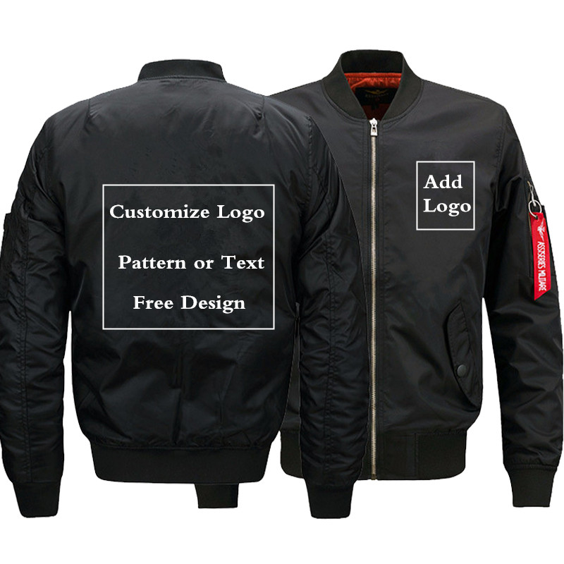 Free shipping! Men Transparent bomber jacket with cuffs
