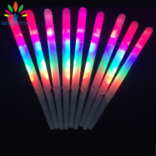 10pcs/lot Colorful LED Cotton Candy Sticks Glow Light up Floss Stick for christmas birthday party prop flashing sticks