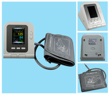 CE FDA CONTEC08A Digital Blood Pressure Monitor+Adult Cuff+Adult SpO2 Probe(China)