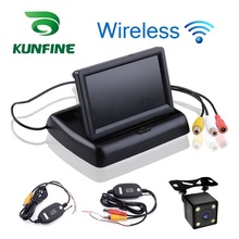 Wireless Car Styling 4.3 inch TFT LCD Screen Car Monitor  Display for Rear View Reverse Backup Camera Car TV Display
