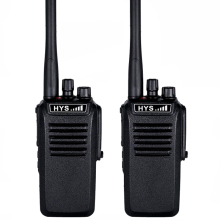HYS 2pc 10W IP67 Waterproof Handheld VHF or UHF Two Way ham handheld Radio Portable transceiver Walkie Talkie comunicador