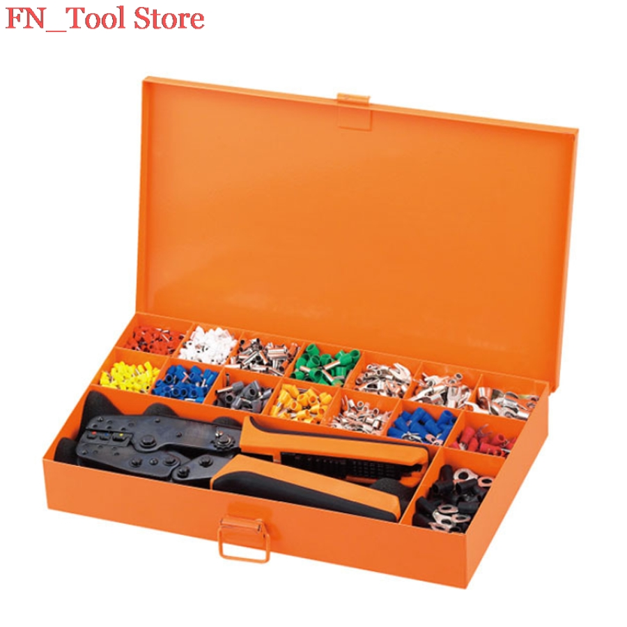 FASEN LAS-005D Electrician dedicated toolkit professional toolkit terminals form a complete set of tools<br>