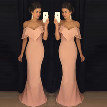 Buy Long Dresses Prom Gown Womens Clothing Summer 2018 Pink Female Dresses Plus Size Trendy Clothes Women's Dress Kleider Damen for $27.42 in AliExpress store