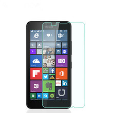 "9H Real Band New For Microsoft Lumia 640 LTE Dual SIM 5.0"" High Quality Tempered Glass for Nokia Lumia 640 Screen Protector(China)"