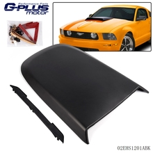 New Racing Hood Scoop Black For 2005-2009 Ford Mustang GT V8(China)