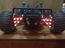Buy rc car spare part led light taillight 1/5 losi 5ive-t truck for $36.34 in AliExpress store