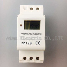THC15A zb18B timer switchElectronic Weekly 7Days Programmable Digital TIME SWITCH Relay Timer Control AC 220V 16A Din Rail Mount