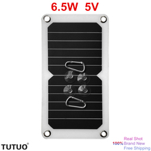 New 6.5W 5V USB Port Output Solar Energy Charger High Efficiency Sunpower Solar Panel DIY Style Kits for Cellphone etc Device(China)