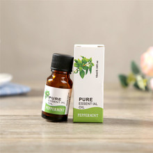 PURE Mint Essential Oils for Aromatherapy 10ml Natural Essential Oil Skin Care Wrinkle Care Lift Skin Plant Essentielle(China)