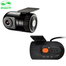 GreenYi 1280*720P Car DVR Camera Digital Video Recorder with 120 wide-angle Lens G-sensor Night Vision for Android DVD Players