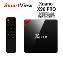 X96 PRO 2GB/16GB 1GB/8GB Amlogic S905X Quad Core Android 6.0 TV BOX Marshmallow 2.4G Wifi BT4.0 4K Smart Media Player IPTV Box(China)
