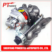 Garrett turbocharger GT1238S 708837 complete turbo charger 1600960499 A1600960499 006314V001000000 for Smart 0.6 (MC01) YH 55 HP