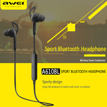 Buy Awei A610BL Stereo Sport Earbud Earpiece Auriculares Bluetooth Headset Earphone Ear Phone Bud Cordless Wireless Headphone for $13.99 in AliExpress store