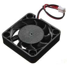 Best Price 12V 2 Pin 40mm Computer Cooler Small Cooling Fan PC Black F Heat sink