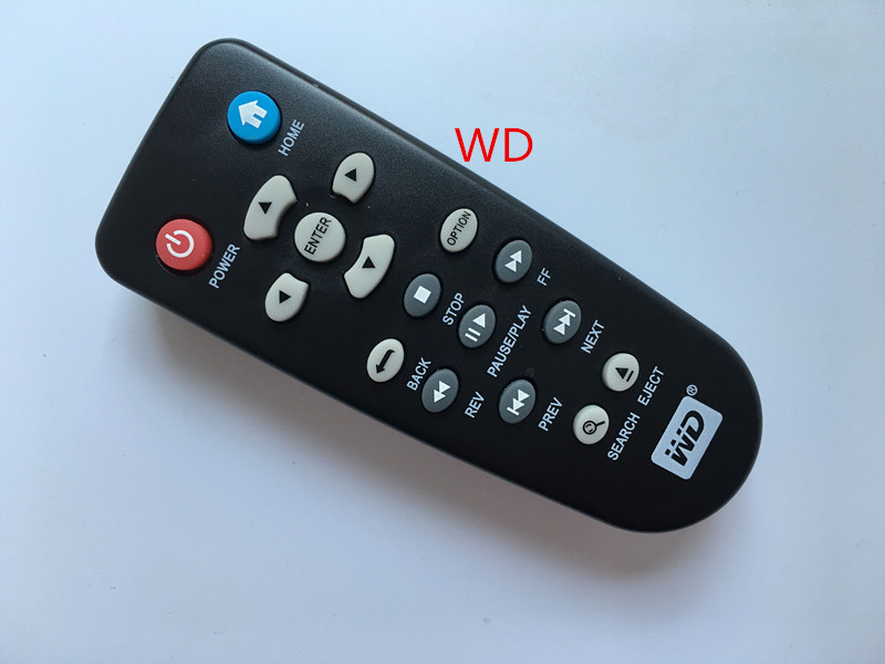 New WD live TV heightening WDTV001RNN mini Hub media player remote control wholesale 4PCS/LOT(China)