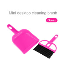 Colorful Mini Plastic Hand Kitchen Dustpan And Brush Set Soft Cleaning Sweeper Dust Pan