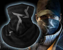 Stripes Black Watch Dogs Aiden Pearce Scarf Balaclava Hats Cap Combat  Half Face Mask