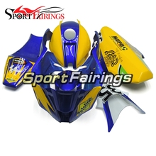Fairings Kawasaki ZX10R ZX-10R Year 11-14 2011 2012 2013 2014 Fiberglass Race Motorcycle Full Fairing Kit Bodywork Blue Yellow(China)