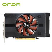 New Onda GTX750Ti 4G GDDR5 128bit Graphics Card With HDMI+VGA+DVI and Cooling Fan Support High Definition Video