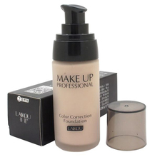 Cosmetic Whitening Liquid Foundation Concealer Moisturizing Waterproof Nude Beauty Makeup T06