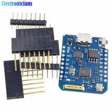 WEMOS D1 Mini Pro 16M Bytes External Antenna Connector NodeMCU ESP8266 ESP8266F CP2104 WIFI IOT Development Board With Free Pins