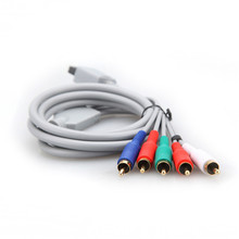 Hot Sale High Definition 480P HD AV Audio Video Adapter HDTV Component Cable Wire For Nintendo For Wii Gaming System