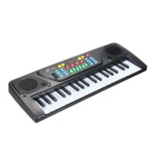 Fun 37 Keys Digital Music Electronic Keyboard Kid Electric Piano Organ Musical Instrument Toy For Children Learning Toy Sets