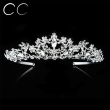 Classic Style Free Shipping Top Austrian Crystal Hair Jewelry Brides Tiaras and Crowns for Women Wedding Party Engagement F025