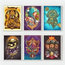 Diy Diamond Painting Pop Culture Illustrations Diamonds Embroidery Star Wars, PokeMon, Mosaic Cross Stitch Kits Home Decoration