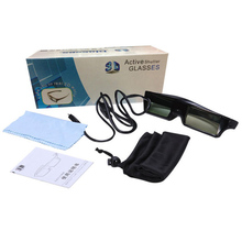 3D RF Active Shutter for Epson LCD Projector Special-purpose 3D Glasses ELPGS03(China)