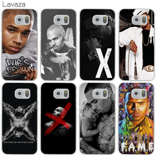 Lavaza Christopher Maurice Chris Brown Cover Case for Samsung Galaxy S3 S4 S5 Mini S6 S7 S8 Edge Plus S7Edge S6Edge(China)