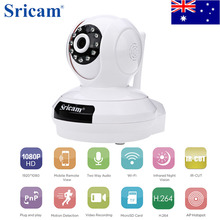 Buy Austrilia ! Sricam SP019 Wireless IP Camera 1080P WiFi Indoor P2P PT TF Card Home Security Surveillance Cam for $46.99 in AliExpress store