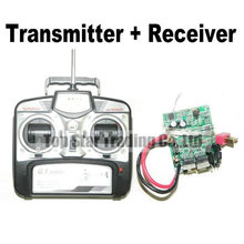 GT Model RC helicopter QS 8008 spare parts accessories QS8008 Transmitter And Receiver(China)
