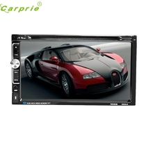 New Arrival Car DVD CD Player 7inch 2 DIN Bluetooth Touch Screen Radio Audio USB iPod SD FM/AM jr9(China)