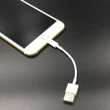 Buy White 10cm 8pin usb cable Sync Data Charger iPhone 7 Plus 6 6S Plus 5 5s SE iPad Mini Air Pro Power Bank Cable for $1.00 in AliExpress store