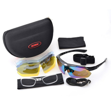 Polarized Sunglasses With 5 Lens Mountain Car Driving Men Women Driver Mirror Sun Glasses Sport Outdoor Male Female Goggles