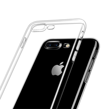 KRY Soft Transparent TPU Phone Cases For iPhone 6 Case 4s 5 5s SE Crystal iPhone 7 Case Cover for iPhone 6s Cases Capa Coque
